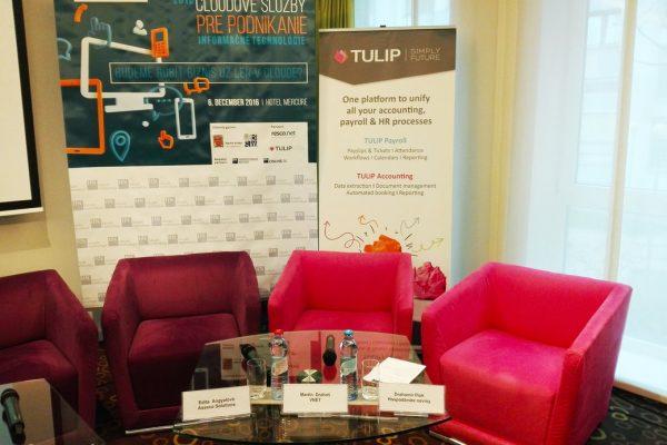 TULIP na konferenci Cloud pro biznis