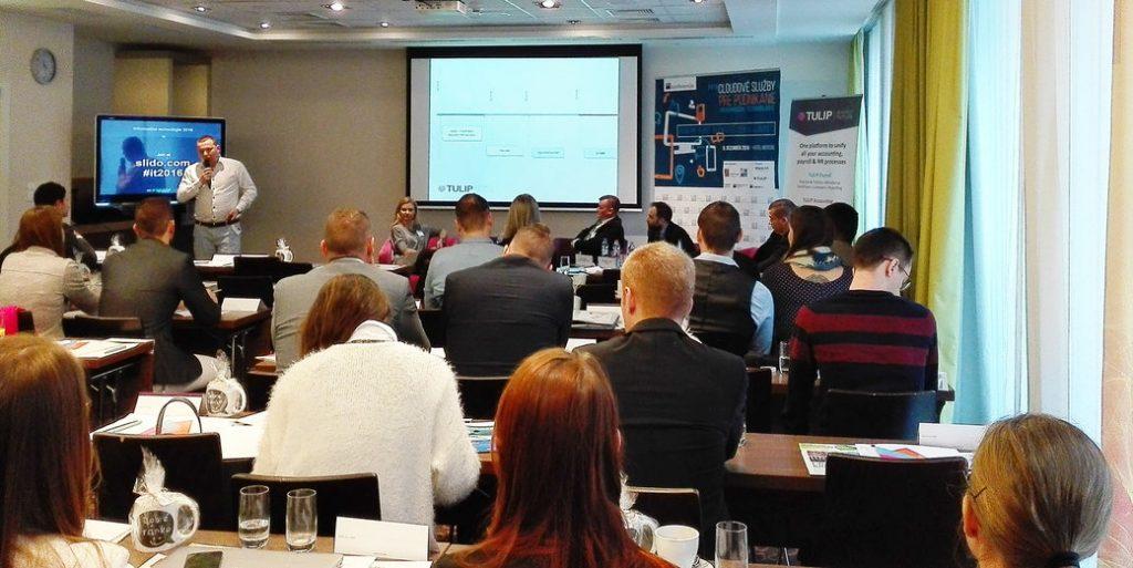 TULIP - Viktor prednasi na konferenci HN Cloud pro byznys
