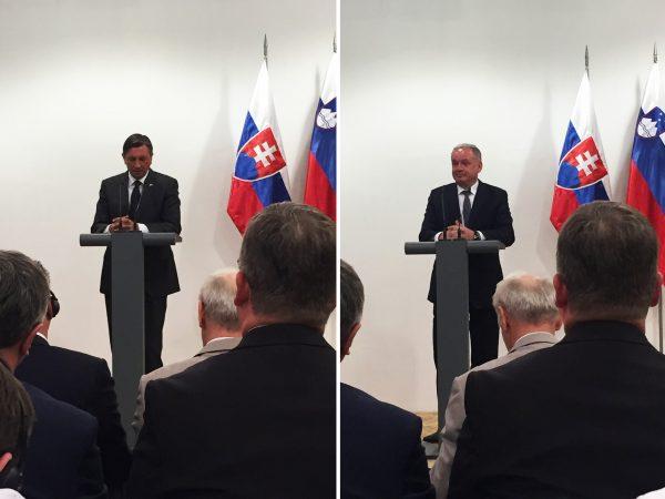 prezidenti Kiska a Pahor - mise ve Slovinsku, foto TULIP Solutions