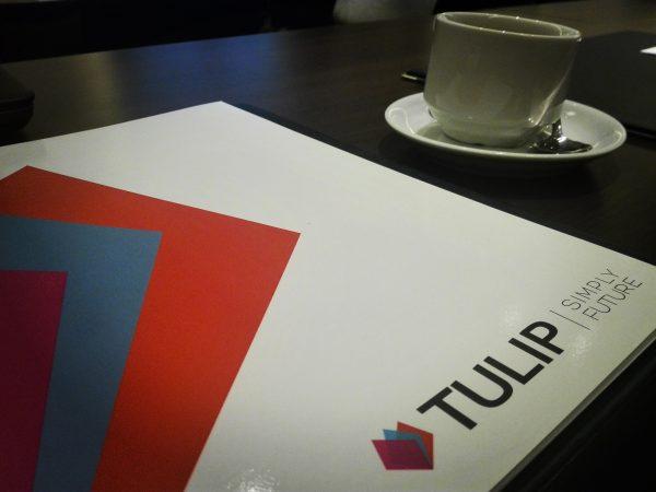 tulip prezentace na konferenci, Praha
